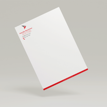 Letterhead Stationary Printing Services | Foil Stamping and Embossing
